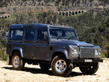 Photos of Land Rover Defender 110 Station Wagon AU-spec 2007