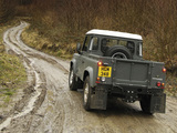 Photos of Land Rover Defender 90 Pickup UK-spec 2007