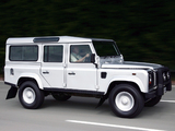 Photos of Land Rover Defender Silver Limited Edition 2005