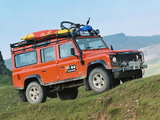 Photos of Land Rover Defender 110 G4 Challenge 2006
