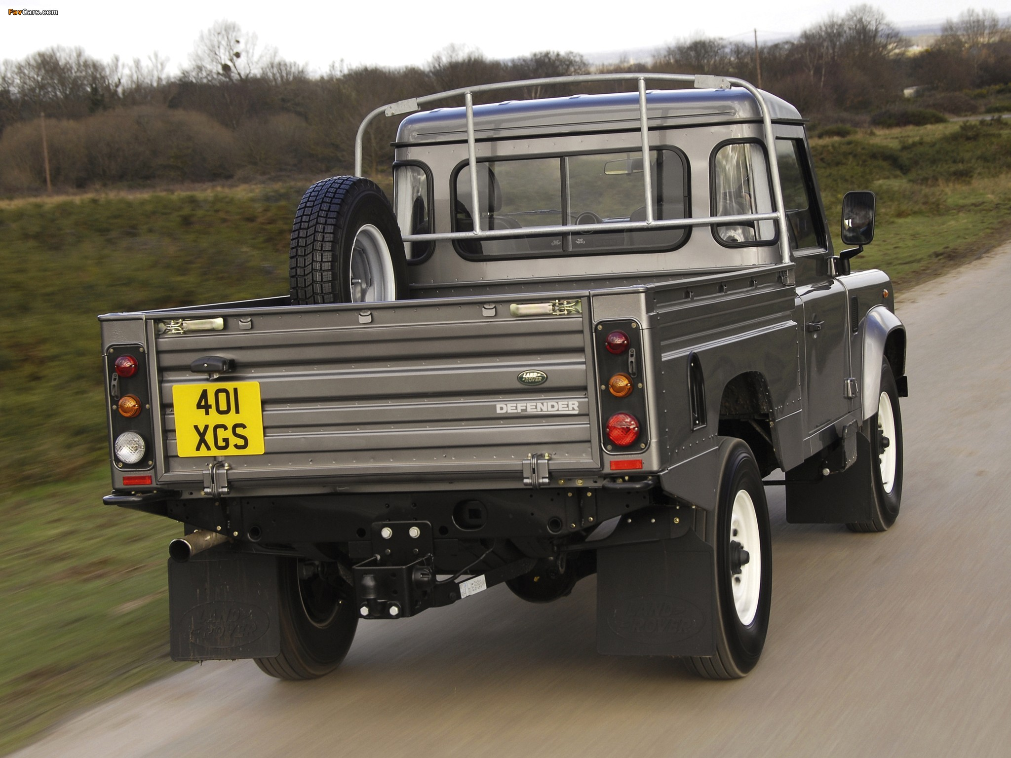 Photos Of Land Rover Defender 110 High Capacity Pickup