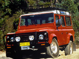Pictures of Land Rover Defender 110 Station Wagon AU-spec 1990–2007
