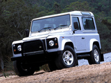 Pictures of Land Rover Defender 90 Station Wagon AU-spec 1990–2007