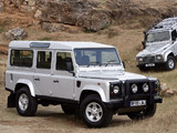 Pictures of Land Rover Defender Silver Limited Edition 2005