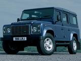 Pictures of Land Rover Defender 110 Station Wagon UK-spec 2007
