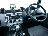 Pictures of Land Rover Defender 110 SVX RHD 2008