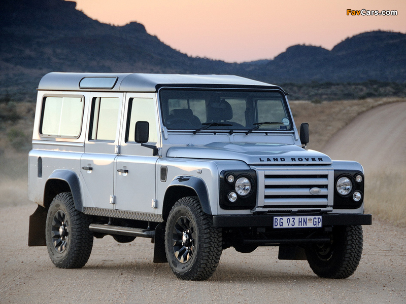 Pictures of Land Rover Defender 110 Limited Edition 2011 (800 x 600)