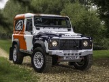 Pictures of Land Rover Defender Challenge Car 2014