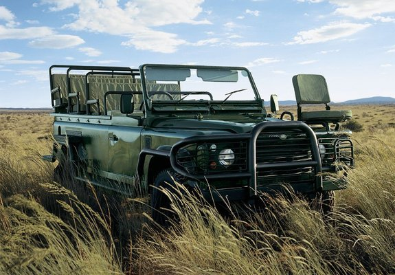 Pictures Of Land Rover Defender 110 Safari Vehicle