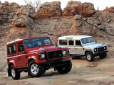 Pictures of Land Rover Defender