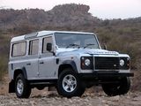 Land Rover Defender 110 Station Wagon ZA-spec 2007 wallpapers