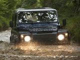 Land Rover Defender 90 Station Wagon EU-spec 2007 wallpapers