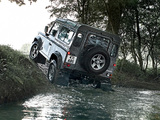 Land Rover Defender 90 Station Wagon 2007 wallpapers