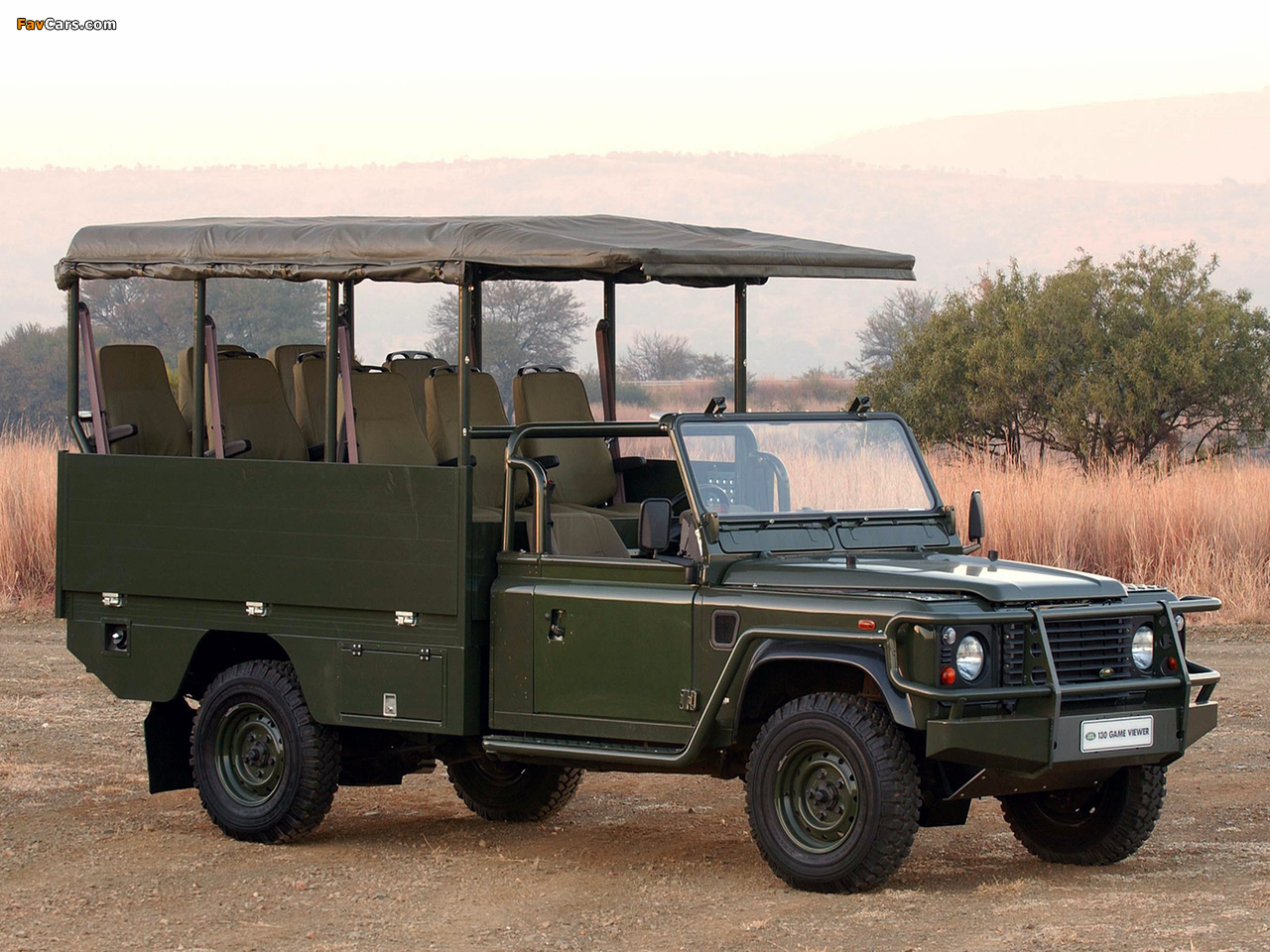 Land Rover Defender 130 Game Viewer wallpapers (1280 x 960)
