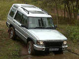 Images of Land Rover Discovery ZA-spec 2003–04