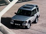 Land Rover Discovery 2003–04 photos