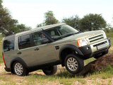 Land Rover Discovery 3 ZA-spec 2005–08 images