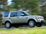 Land Rover Discovery 4 3.0 TDV6 UK-spec 2009 images