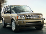 Land Rover Discovery 4 3.0 TDV6 UK-spec 2009 wallpapers