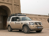 Land Rover Discovery 4 Expedition Vehicle 2012 images