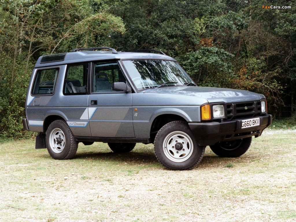 Land Rover Discovery 3-door 1989–94 pictures (1024x768)