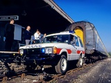 Land Rover Discovery 3-door Police 1989–94 wallpapers