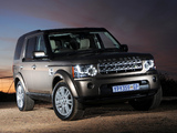 Photos of Land Rover Discovery 4 3.0 TDV6 ZA-spec 2009–13