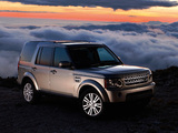 Photos of Land Rover Discovery 4 3.0 TDV6 UK-spec 2009