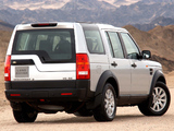 Pictures of Land Rover Discovery 3 ZA-spec 2005–08