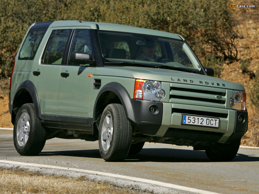 Pictures Of Land Rover Discovery 3 2005 08 1024x768