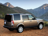 Land Rover Discovery 4 3.0 TDV6 ZA-spec 2009–13 wallpapers