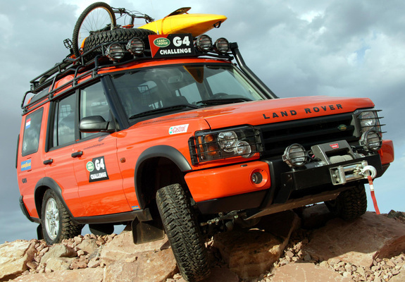 Land Rover Discovery G4 Edition 2003 wallpapers