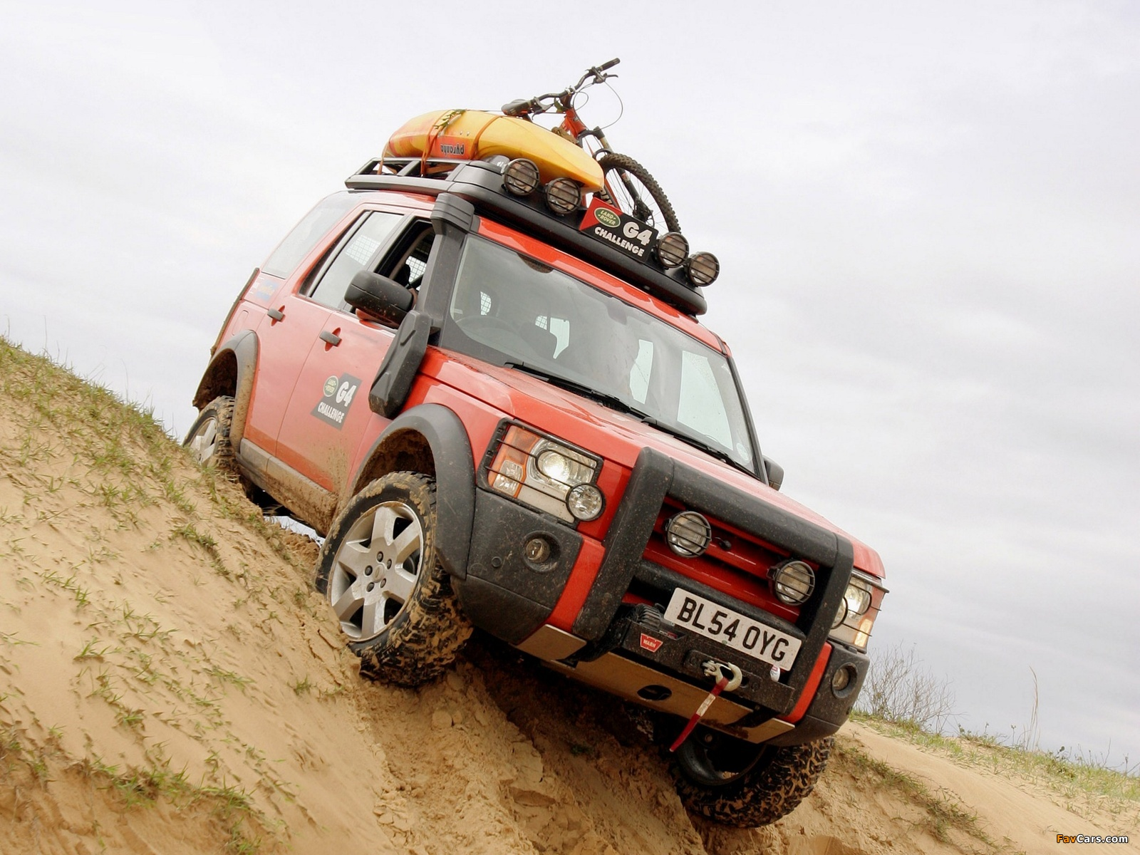 Land Rover Discovery 3 G4 Edition Wallpapers 1600x1200
