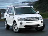 Land Rover Freelander 2 SD4 ZA-spec 2010–12 wallpapers