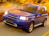 Callaway Land Rover Freelander Supercharged 2001 photos