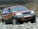 Pictures of Land Rover Freelander 5-door 1997–2002