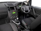 Pictures of Land Rover Freelander 2 TD4_e ZA-spec 2009–10