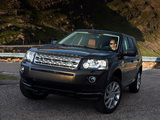 Land Rover Freelander 2 SD4 2012 wallpapers