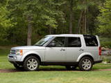 Land Rover LR3 2008–09 wallpapers