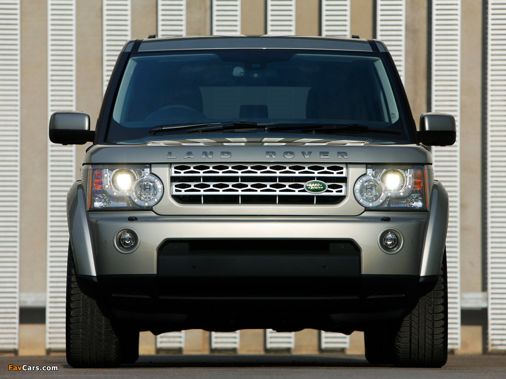 Land Rover LR4 2009 images (1024 x 768)