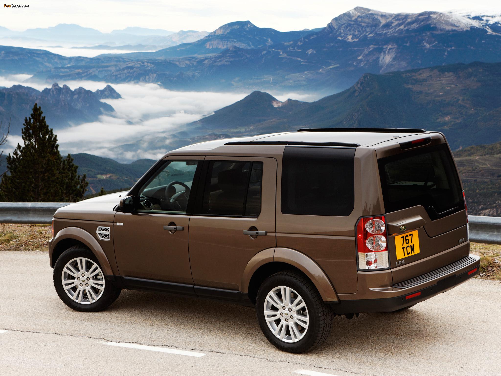 Land Rover LR4 2009 photos (2048 x 1536)