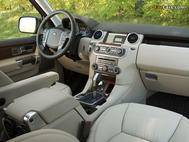 Land Rover LR4 2009 pictures (640 x 480)