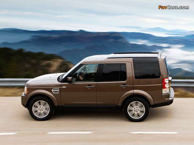 Land Rover LR4 2009 wallpapers (640 x 480)