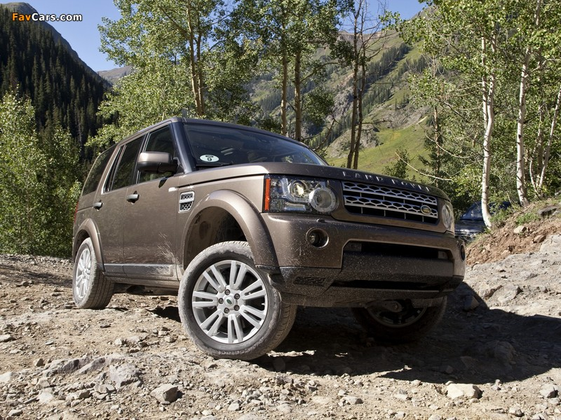 Land Rover LR4 2009 wallpapers (800 x 600)