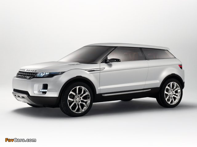 Images of Land Rover LRX Concept 2007 (640 x 480)