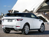 Images of Range Rover Evoque Coupe Dynamic AU-spec 2011
