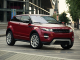 Images of Range Rover Evoque Coupe Dynamic US-spec 2011