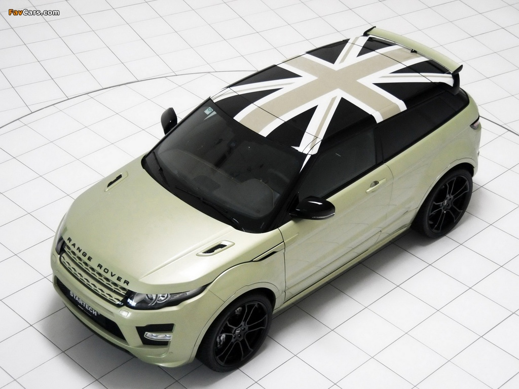 Images of Startech Range Rover Evoque Coupe 2011 (1024 x 768)