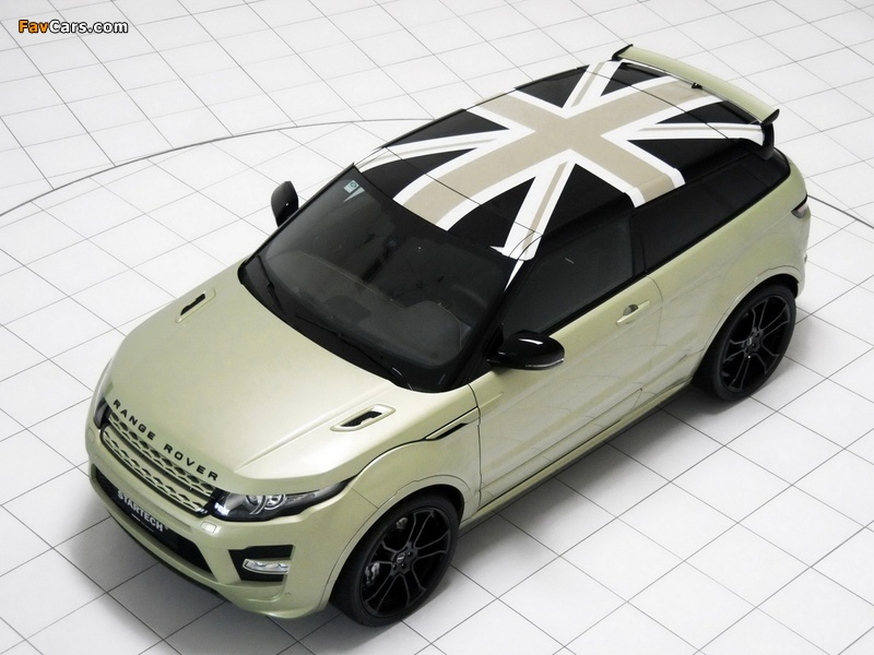 Images of Startech Range Rover Evoque Coupe 2011 (800 x 600)
