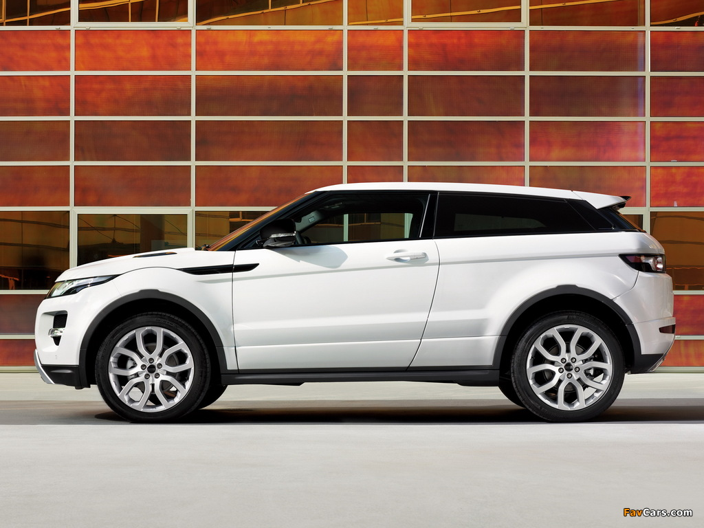 Images of Range Rover Evoque Coupe Dynamic 2011 (1024 x 768)